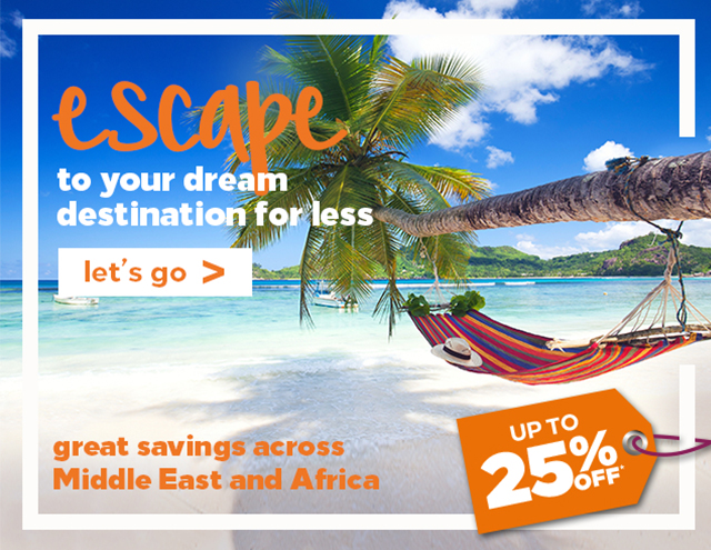 escape to your dream destination for less