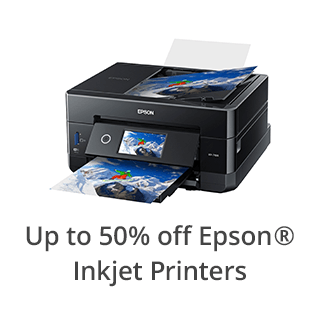 Epson Inkjet Printers up to 50% off