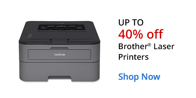 Up to 40% off Brother Laser Printers
