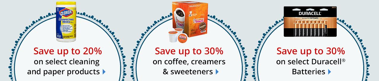 Great savings on everyday essentials