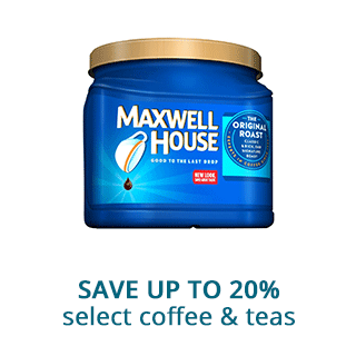 Save up to 20% select coffee & teas
