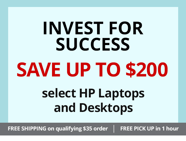 HP Laptops and Desktops