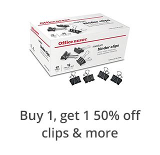Buy 1 Get 1 50% Off Clips, Fasteners, & Rubberband