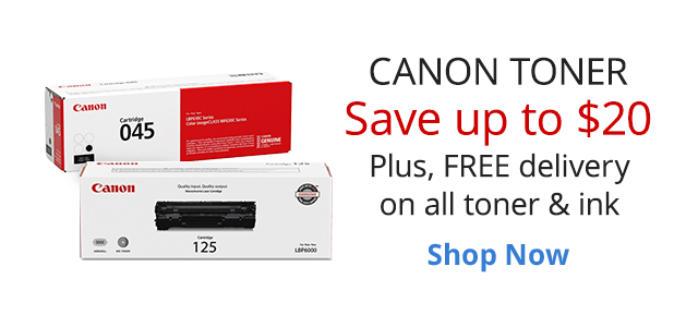 Save up to $20 with this week's Ink and Toner Deals
