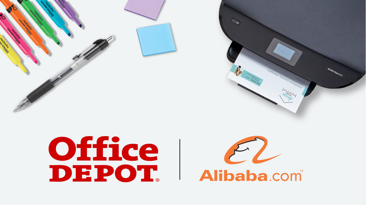 Office Depot® and Alibaba.com™