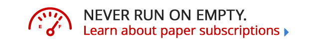 Never run on paper subscriptions