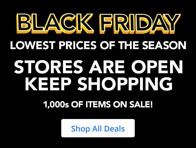 Black Friday Stores Open