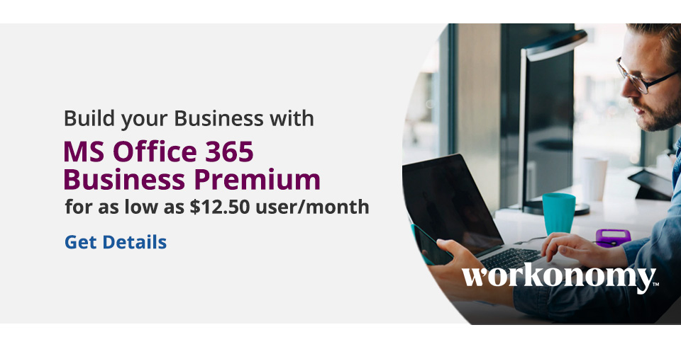 MS Office 365 Business Premium - Workonomy Build Your Business