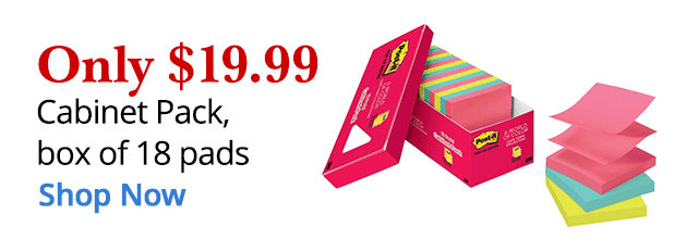 $19.99 Post-It Packs