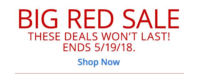 Big Red Sale Online