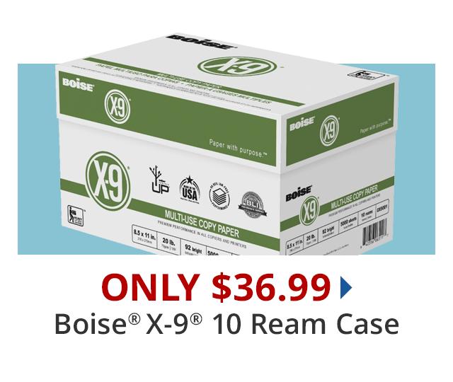 Boise X9 Case $36.99