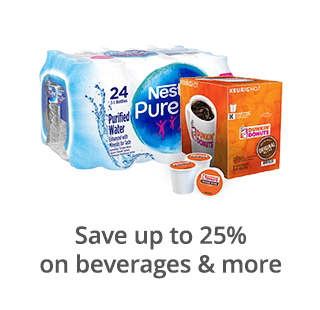 Save up to 25% on beverages & more