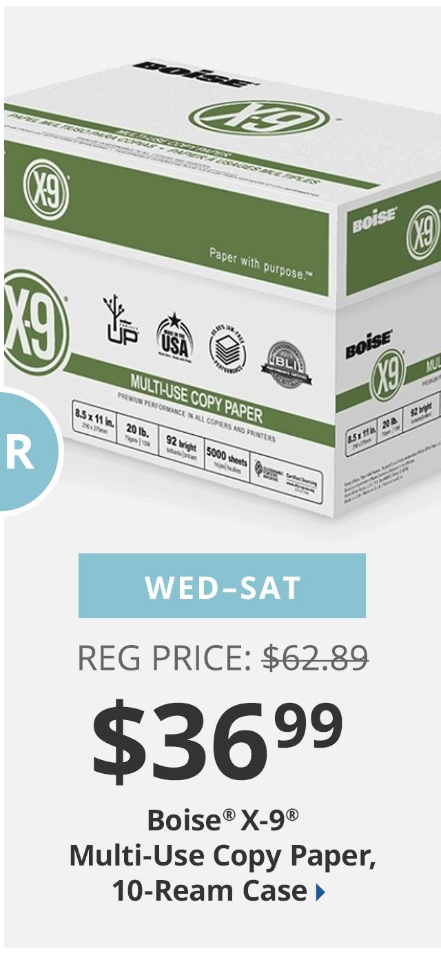 Boise paper $36.99