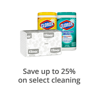 Save up to 25% on select cleaning