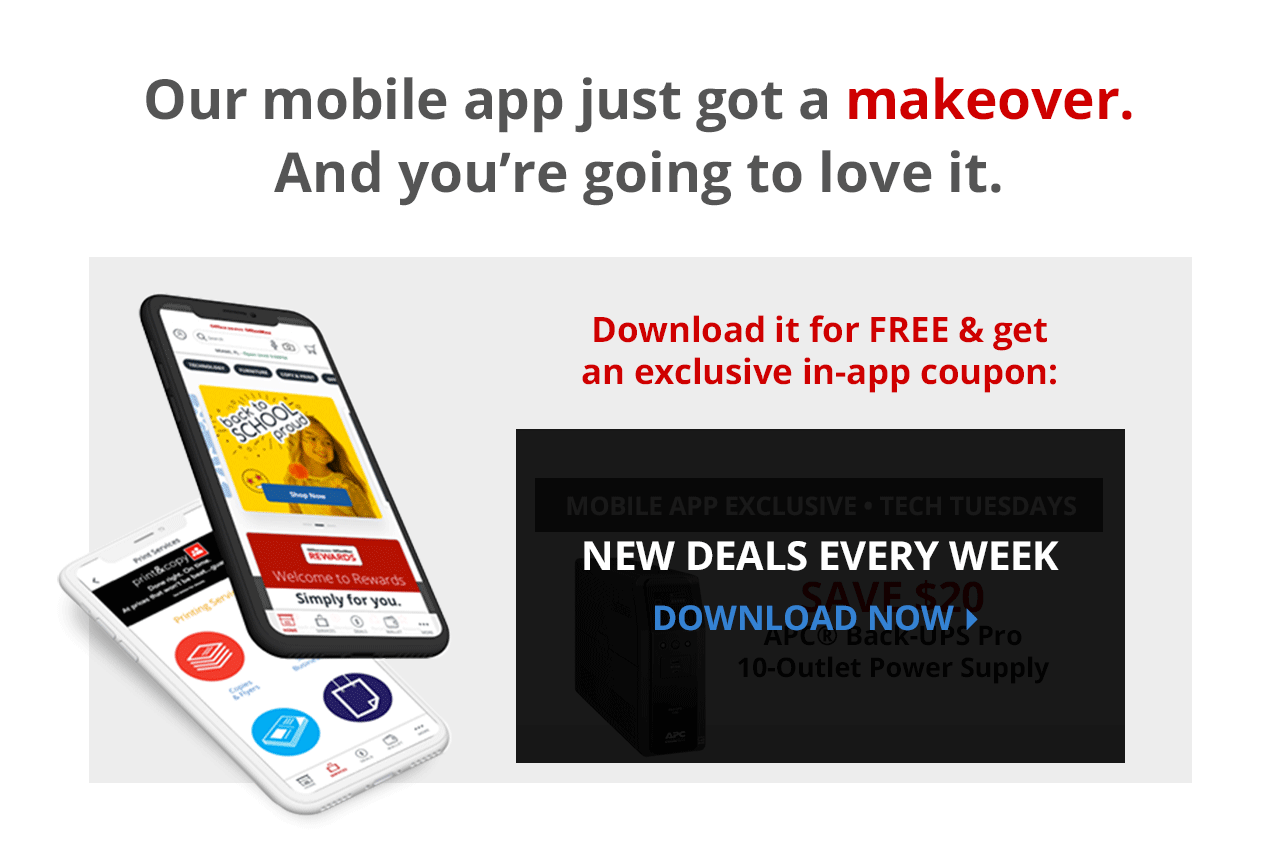 Download our app get exclusive in-app coupon.