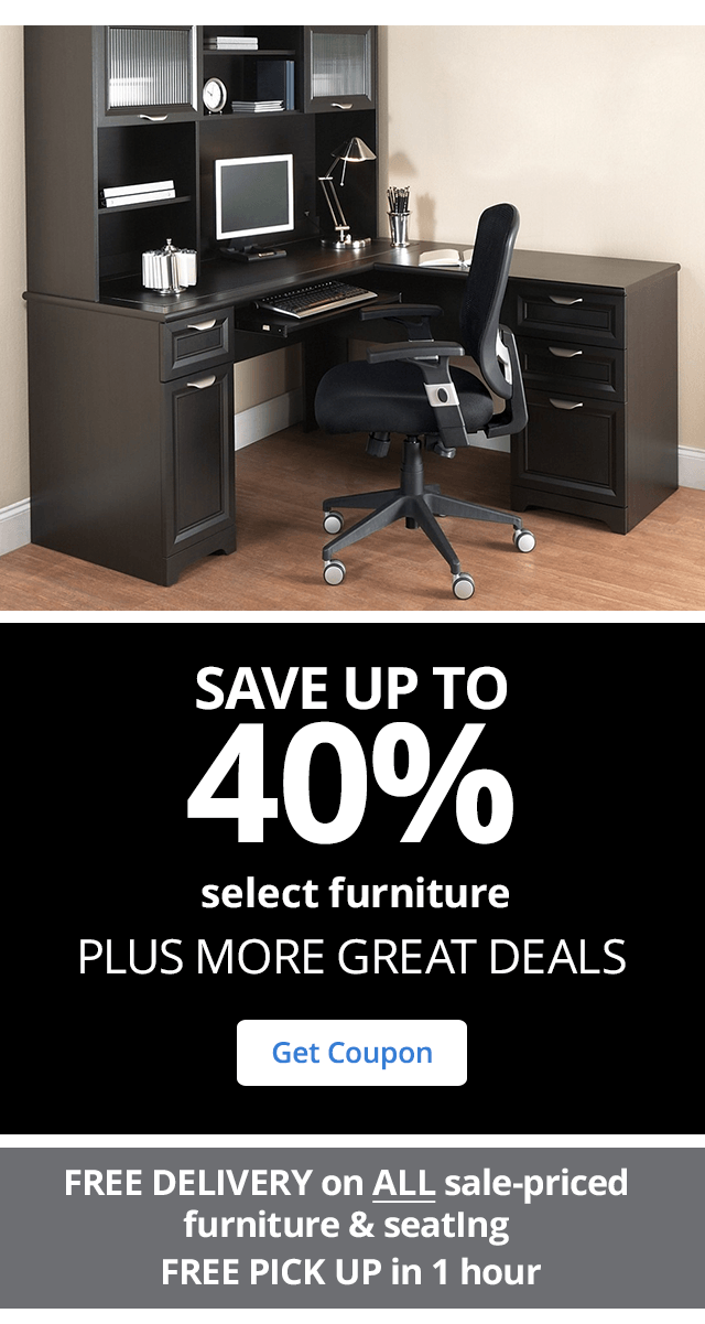 72hr Doorbusters Save up to 50% select Furniture & seating