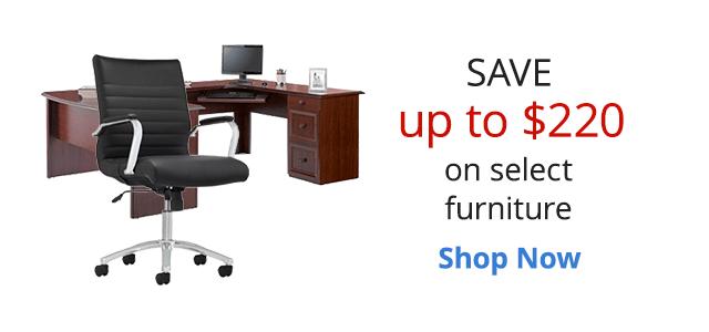 Save $220 on furniture
