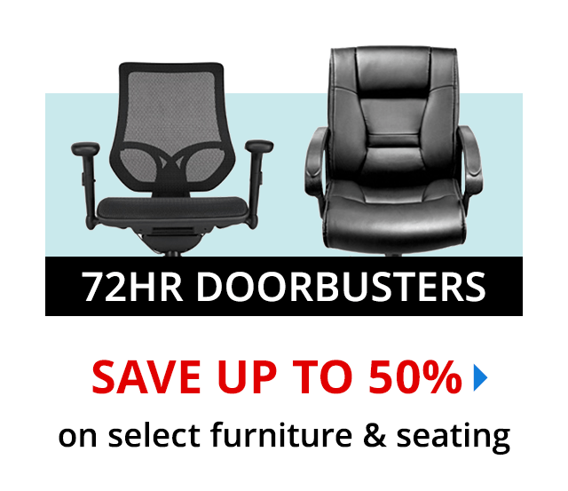 3-Day Doorbuster - Save 40% on select Furniture & Seating