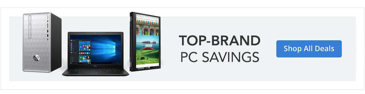 Top Brand PC Savings