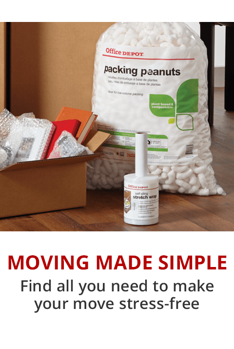 Office Depot Makes Moving Easy