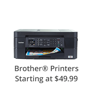 Brother Printers Starting at $49.99