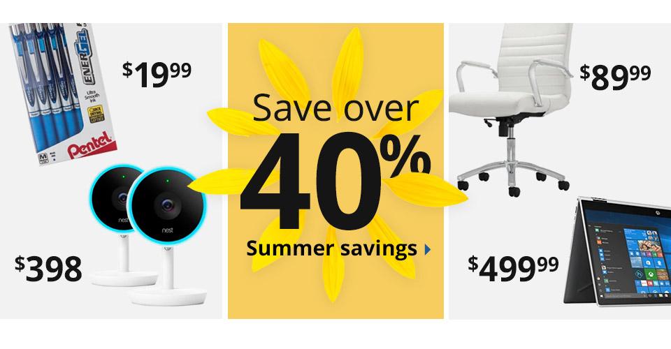 Summer Of Savings