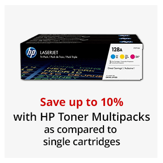 Save up to 10% HP Toner Multipacks