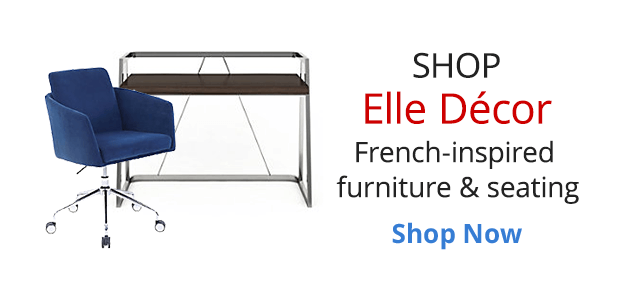 Shop Elle Décor French Inspired furniture & seating