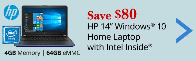 Save $80 laptop