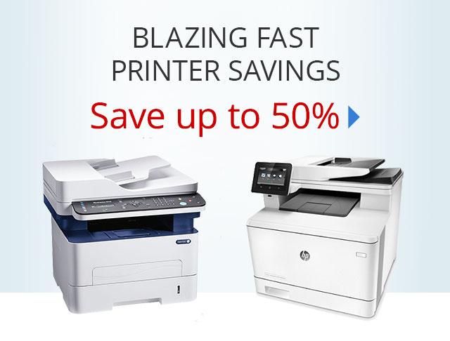 Printer Savings - Save up to 50% on select printers