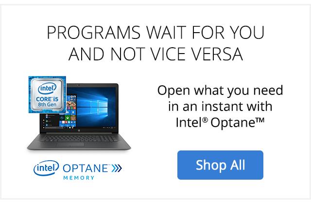 Save $150 HP Pavilion with Intel Optane Memory