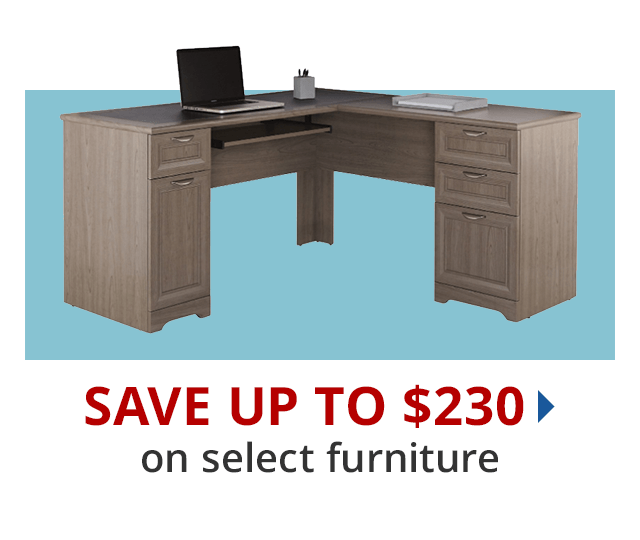 Save up to $230 select furniture