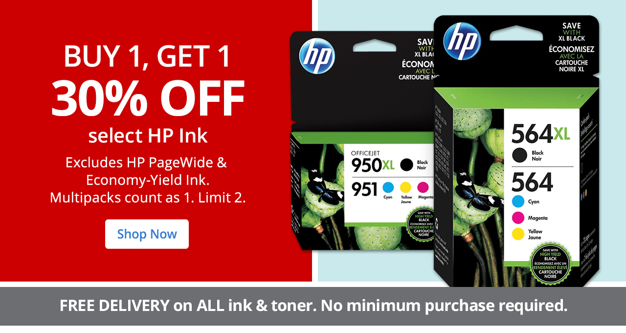 BOGO HP Ink - Limit 2