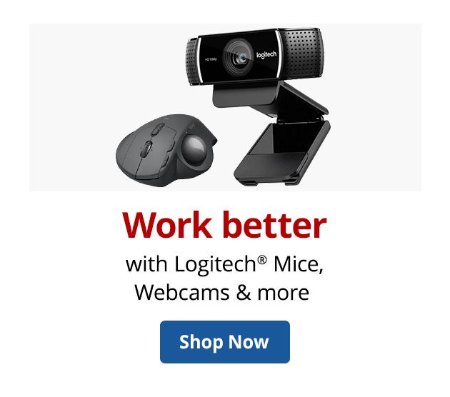 Work better with Logitech