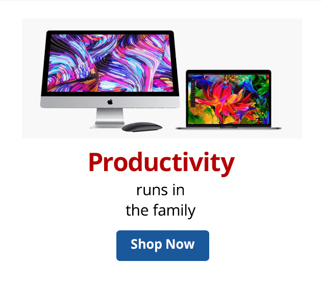 Apple productivity runs in the family