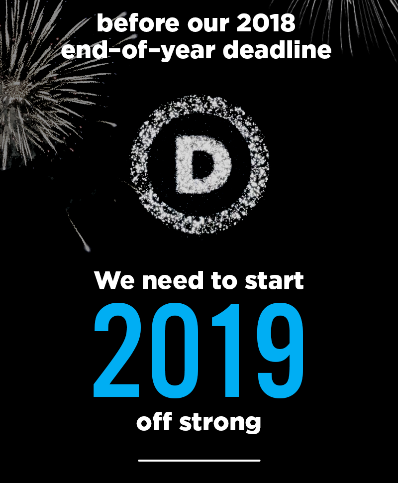Will you be one of the 101 grassroots supporters from San Francisco to help hit our end-of-year goal?