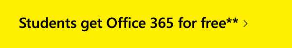 Students get Office 365 for free**.