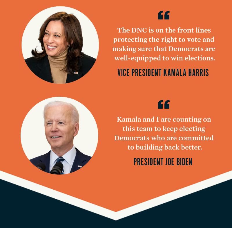 Vice President Kamala Harris, President Joe Biden